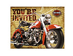 Harley-Davidson Invitations