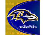 Baltimore Ravens Lunch Napkins
