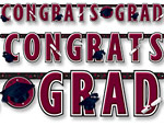 Berry Graduation Giant Letter Banner