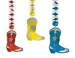 Western Boot Foil Danglers
