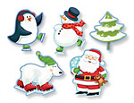 Assorted Christmas Cutouts