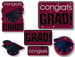 Berry Graduation Cutouts Value Pack