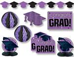 Purple Graduation Decorating Kit
