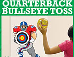 Quarterback Bullseye Toss Game