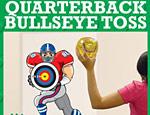 Quarterback Bullseye Toss Game