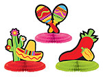 5 inch Fiesta Mini Centerpieces Assorted