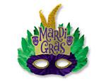 Mardi Gras Feather Mask