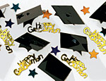 Grad Caps 3-D Confetti 2/3oz.