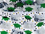 Green Graduation Confetti Mix 2.5oz.