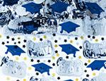 Blue Graduation Confetti Mix