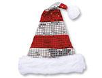 Sequin Sparkle Santa Hat