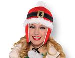 Santa Belt Flap Hat