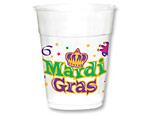 Mardi Gras 14oz. Plastic Cups