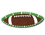 Large Football Platter