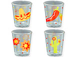 Fiesta Shot Glasses