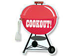 Cookout Jumbo Invitations
