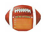 Football Novelty Invitations
