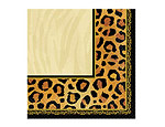 Safari Chic Beverage Napkins