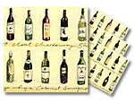 Vineyard Beverage Napkins