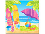 Beach Fun Luncheon Napkins