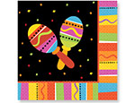 Fiesta Fun Luncheon Napkins
