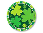 Spring Clover 9 inch Plates