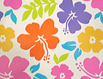 Hibiscus Plastic Tablecover