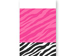 Zebra Party Plastic Tablecover