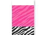 Zebra Party Plastic Tablecover