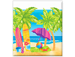 Beach Fun Tablecover