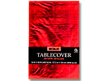 Red Metallic Tablecover