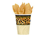 Safari Chic 9oz. Paper Cups