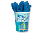 Hanukkah Wishes 9oz. Cups