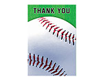 Baseball Fan Thank-You Cards