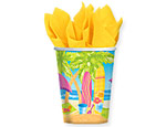 Beach Fun 9oz. Cups