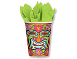 Tiki 9oz. Paper Cups
