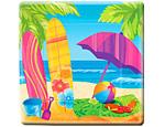 """Beach Fun 10"""" Plates"""