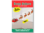 10' Santa and Reindeer Scene