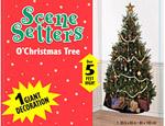 5' Christmas Tree Scene Setter