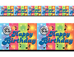 Disco Birthday Border 40'X18' Roll