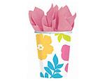 Hibiscus 9oz. Paper Cups