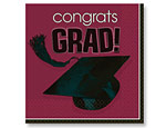 Berry Graduation Lunch Napkins
