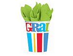 Bravo Grad 9oz. Paper Cups