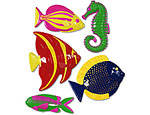 Assorted Plastic Fish