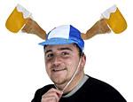 Plush Oktoberfest Mugs Cap