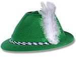 Green Tyrolean Hat