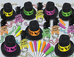 Neon Swing New Years Kit Assorted for 50