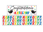 Graduation Sticker Banner