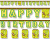 Monkey Jointed Birthday Banner
