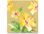 Exotic Floral Plastic Tablecover